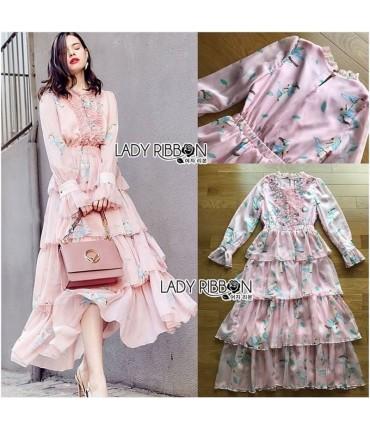 Feel Good Baby Pink Maxi Dress