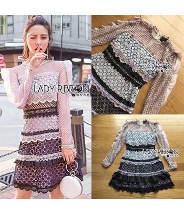 Classic Crochet Mini Dress