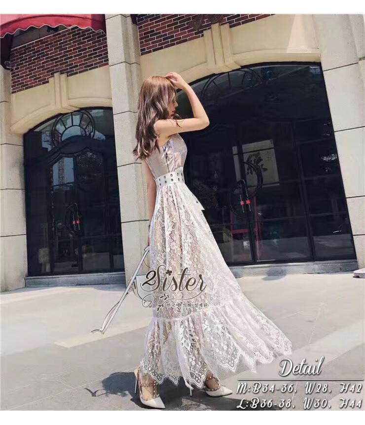 Call Me Pretty Flare Maxi Dress