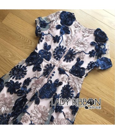 Blooming Girl Designer Lace Gown