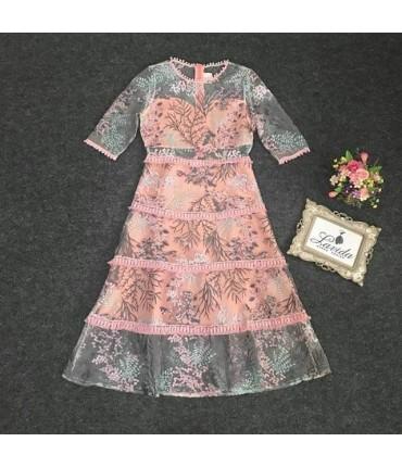 Natures Girl Midi Dress