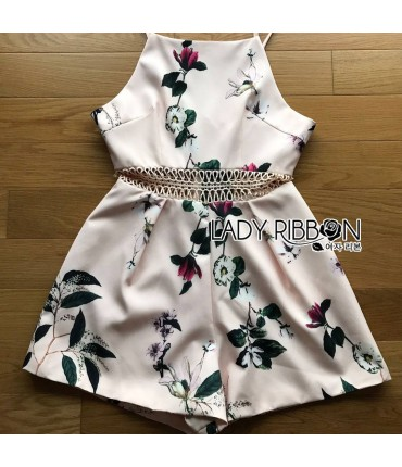 Crave You Tropical Print Playsuit