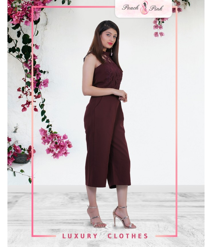 Who's That Girl Culottes Jumpsuit