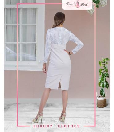 Shea Button-Up Bodycon Dress