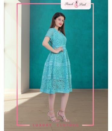 Mint Green Midi Dress