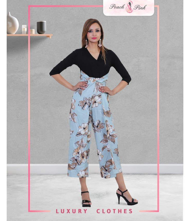 Spring Mood Culotte Jumpsuits