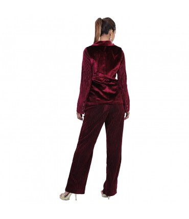 Premium Velvet Blazer and Pant Set