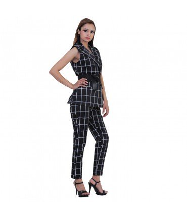 Checkmate Blazer And Pants Set