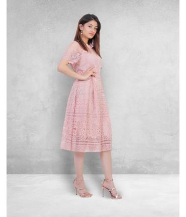 Retro Romance Midi Dress