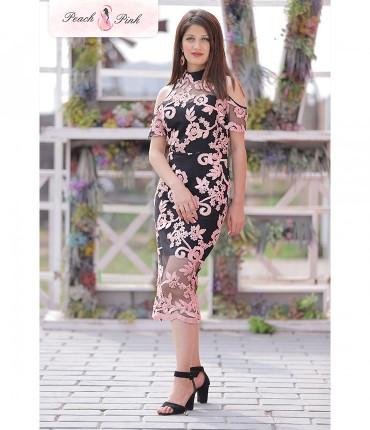 The Cold Shoulder Dazzling Dress