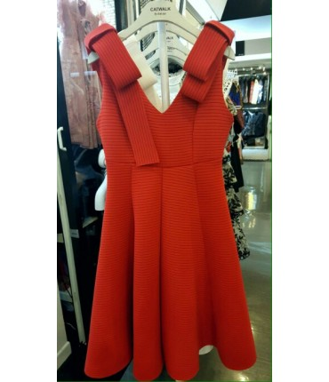 Red Trendy Diva Dress