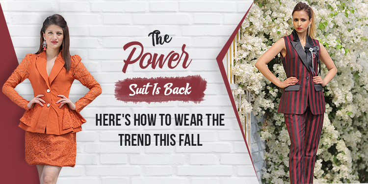 The Power Suit Is Back: Here's How to Wear The Trend This Fall