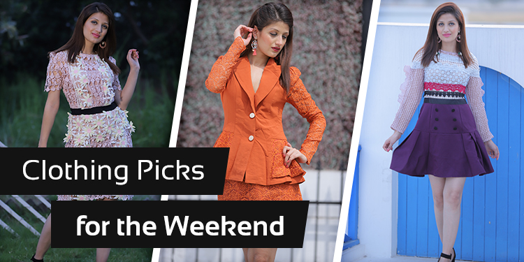 8 Clothing Picks for the Weekend to make you look phenomenal