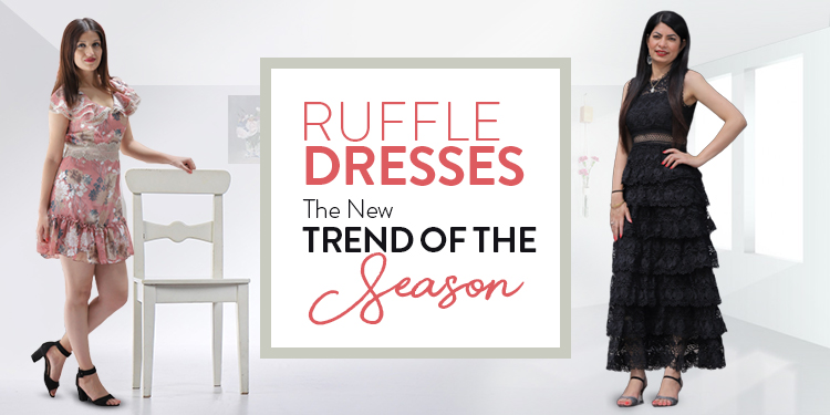 Ruffle Dresses - The New Trend of the Season