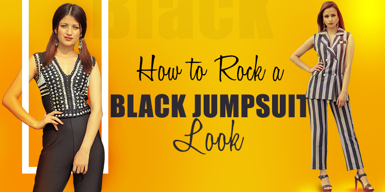 How to Rock a Black Jumpsuit Look